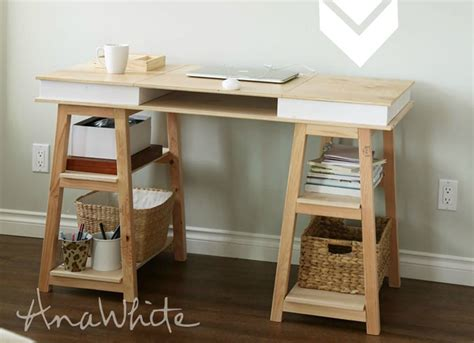 diy desk with storage diy desk 15 easy ways to build your own bob vila