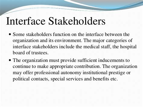 😀 Major Stakeholders In Health Care System 3 Introducing