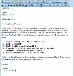 dispute letter generator software for credit repair With letters to fix credit