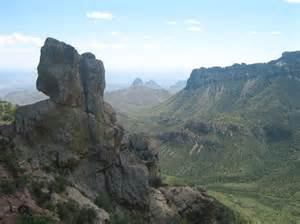 Lost Mine Trail Big Bend National Park