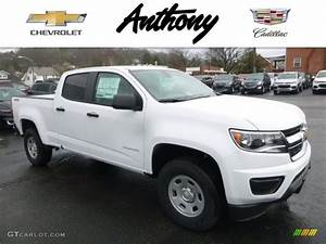 2017 Summit White Chevrolet Colorado WT Crew Cab 4x4 ...