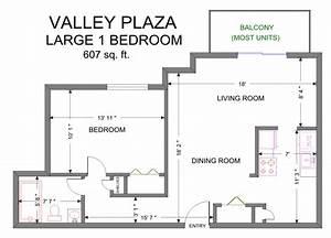 Valley Plaza Apartment Floor Plans  U2013 Old Brooklyn Apartments