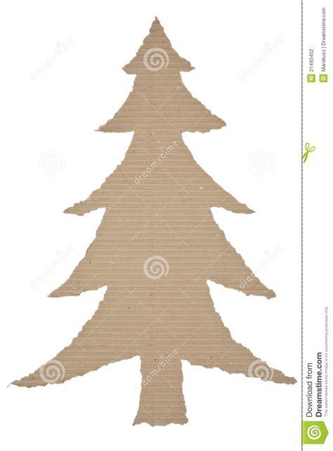 193 rbol de navidad hecho de la cartulina acanalada