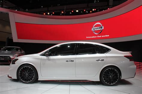 Nissan Sentra Nismo Concept Side View From La Auto Show