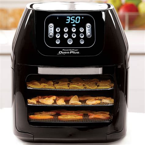 fryer oven air power pro plus rotisserie dehydrator quart 6qt