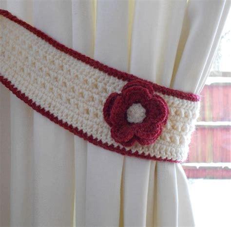 crochet curtain tie back http lomets
