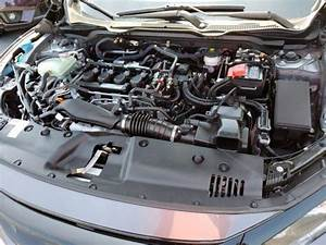 2017 Honda Civic Si Engine Cover