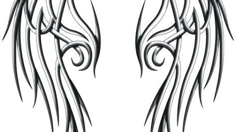 angel wings drawing    clipartmag