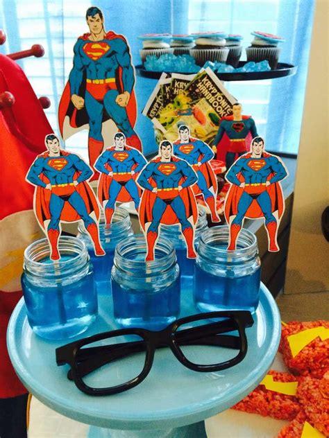 justice leaguesuperhero birthday party ideas photo