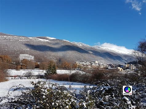 Camerata Nuova Roma - panorama camerata nuova neve confinelive