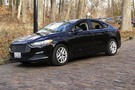2015 Ford Fusion Se 2.5 Rental Review