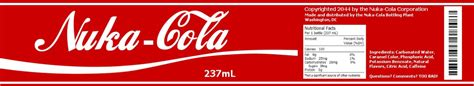 fallout universe nuka cola label i made i m creating