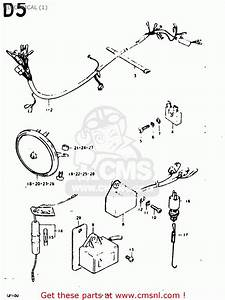 Suzuki Gp100 1978  C   E01 E02 E06 E13 E14 E24 E30  Electrical  1