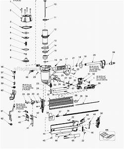 Porter Cable Bn200c Parts List And Diagram