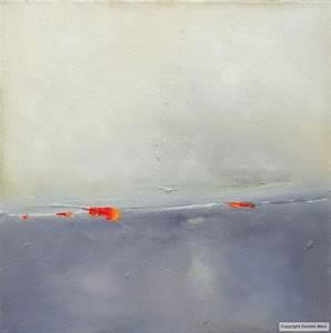 tableau peinture contemporaine abstraction bleue bleue With couleur gris bleu peinture 4 tableau peinture contemporaine paysage minimaliste