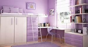 Deco Pour Chambre Ado : la chambre d 39 ado fille prend de la hauteur deco cool ~ Teatrodelosmanantiales.com Idées de Décoration