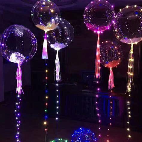 led balloon lights 18 inch luminous led balloon lighting in 3m string
