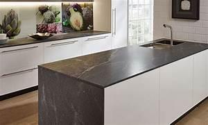 Stein Arbeitsplatte Küche : arbeitsplatten f r die k che die materialien im vergleich ~ Orissabook.com Haus und Dekorationen