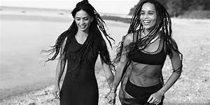 ad obsession zoe kravitz and bonet looking