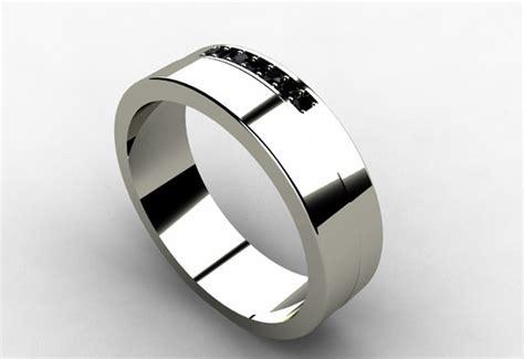 mens wedding band trends   weddingelation
