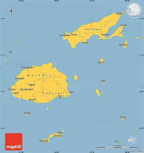 lami fiji map