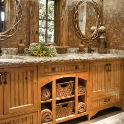 country bathroom decorating ideas pictures rustic bathroom décor ideas for a country style interior kvriver