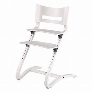 Chaise Haute Bébé Design : chaise haute avec arceau blanc satin leander design b b ~ Teatrodelosmanantiales.com Idées de Décoration