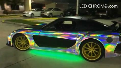 the color chrome led chrome the color change chrome wrap in the