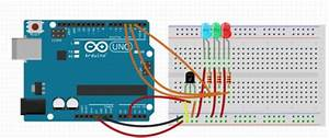 Arduino Led Temperature Indicator