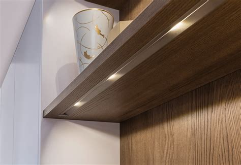 wall unit kitchen lights lighting concept fitments kitchen leicht modern 8717