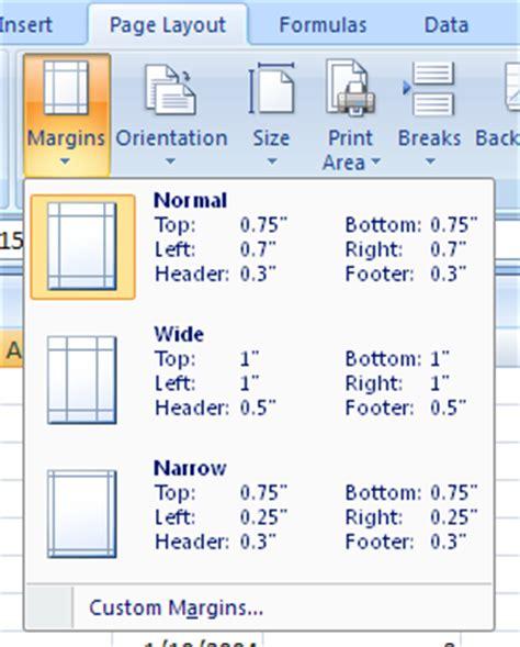change the margin settings margin 171 format style