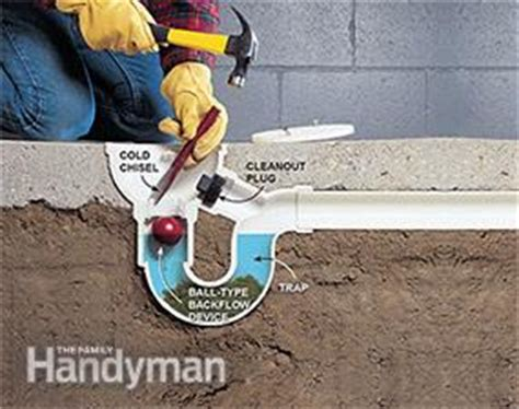 Industrial Floor Drain Backflow Preventer by How To Unclog A Drain Tips From The Family Handyman