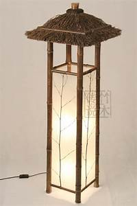2014 new arrival wood new arrival chinese style floor lamp for Oriental wood floor lamp