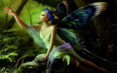 Fairy Desktop Fairies Fantasy 3d Wallpapers Butterfly