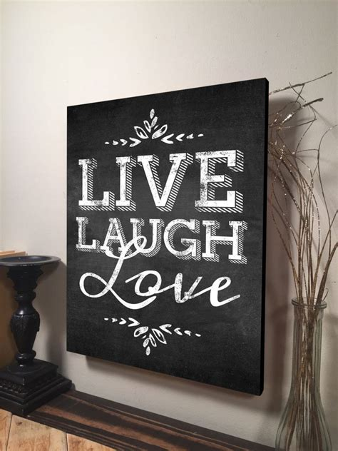 live laugh home decor live laugh wall inspirational quote home decor