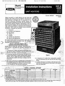 Bryant 342 Air Conditioner User Manual