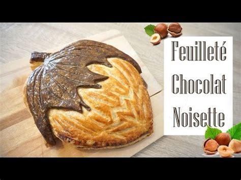 la chaine cuisine feuilleté chocolat noisette collaboration avec la chaine