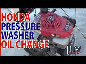 Diy The Easy Way Honda Gcv160 Pressure Washer Engine Oil
