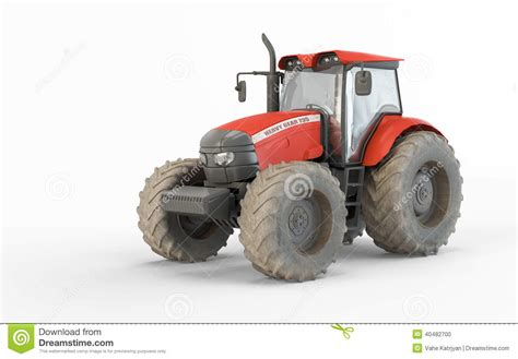 siege tracteur agricole tracteur agricole illustration stock illustration