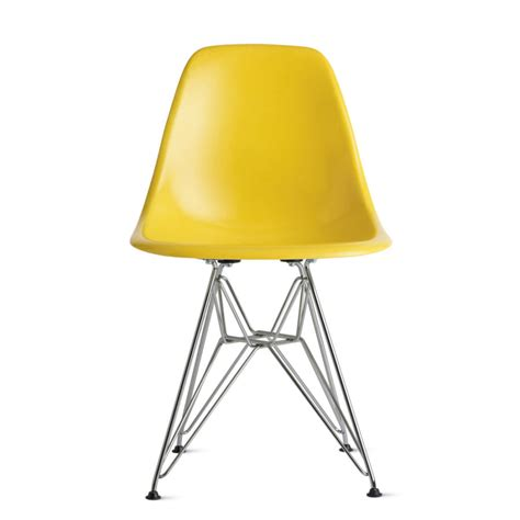 eames molded plastic chair knock and