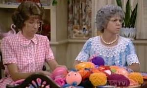 Beverly Archer & Vicki Lawrence - Sitcoms Online Photo ...