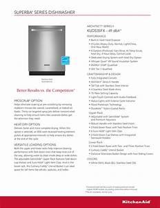Download Free Pdf For Kitchenaid Kuds35fxss Dishwasher Manual