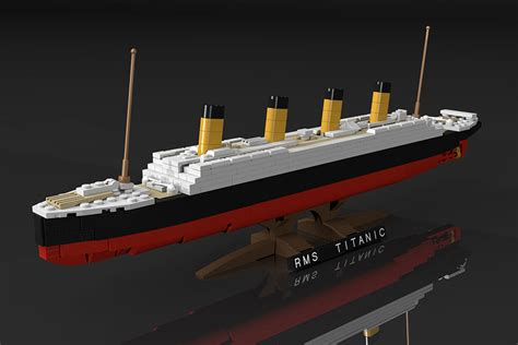Lego Ship Sinking Titanic by Lego Titanic Set Concept Being Reviewed Let S It