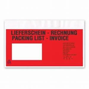 Küchengeräte Auf Rechnung : begleitpapiertasche din lang mit lieferschein rechnung und packliste aufkleber shop ~ Themetempest.com Abrechnung
