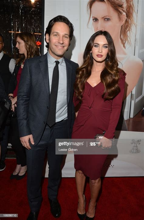 Actors Paul Rudd and Megan Fox attend