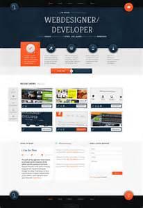 websites design personal portfolio web design interface wakaboom