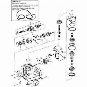 Omc Cobra Staartstuk    Sterndrive Parts