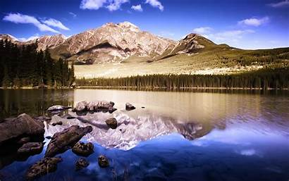 Lake Clear Fhd Wallpapers Mountains Reflective Awesome