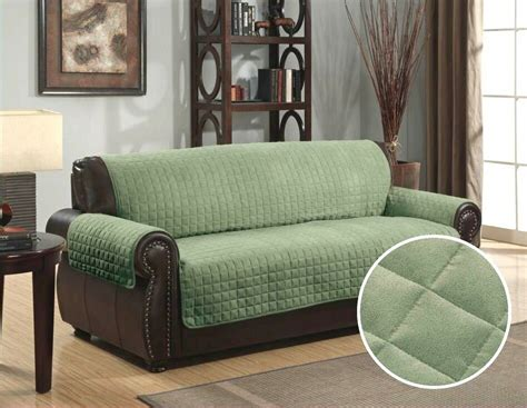 Sofa Protector For Sectional by Quilted Micro Suede Pet Sofa Furniture Protector