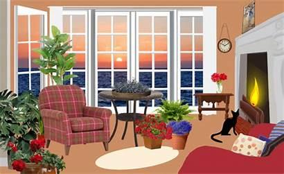 Apartment Sunset Svg Living Classic Fictional